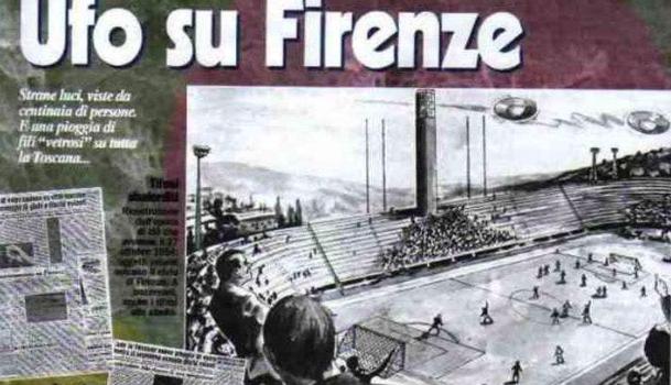 Quando una partita della Fiorentina venne sospesa per gli UFO