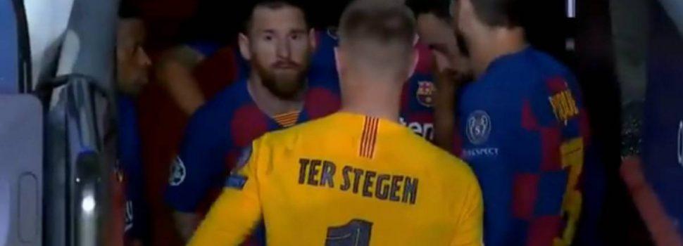 Il discorso di Messi ai compagni prima della rimonta contro l'Inter