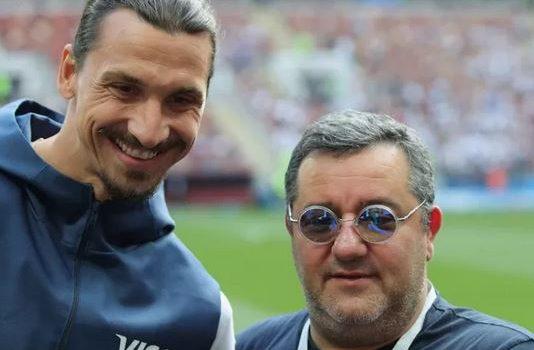 Raiola: «Ibrahimovic giocherà fino a 50 anni. Fa i piegamenti con me…»