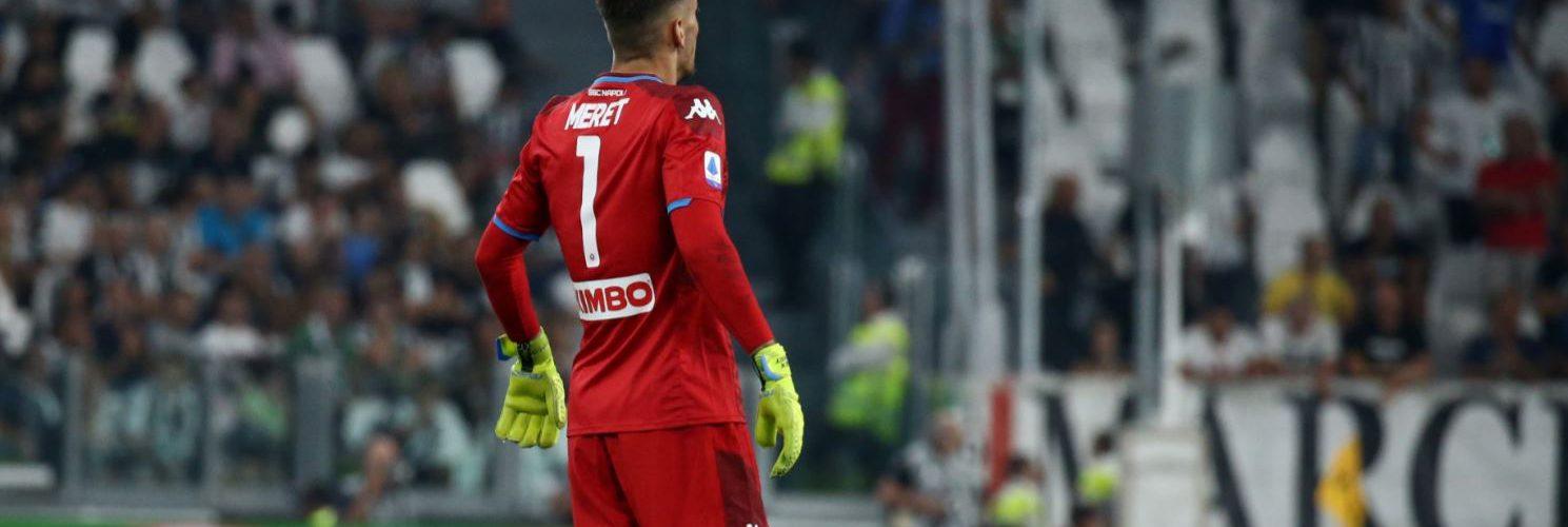 Napoli, De Laurentiis chiede il cambio di maglia di Meret