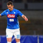 Napoli, report della seduta: «Milik prosegue il recupero. Allan e Ghoulam…»