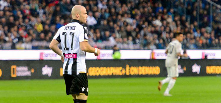 Tegola Udinese: si ferma Nuytinck