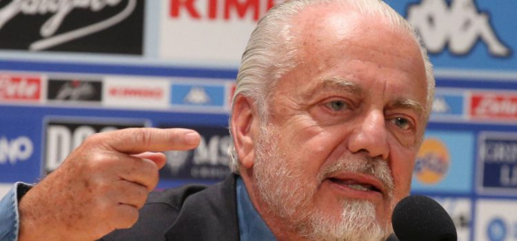 De Laurentiis come Guardiola: «La UEFA sta uccidendo i calciatori»