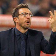Cagliari, Di Francesco: «Timidi nel primo tempo. Se penso al Milan ho le mani nei capelli»