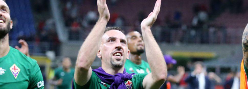 Fiorentina, oggi seduta a piccoli gruppi. C'è anche Ribery