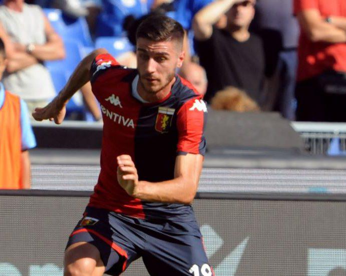 Genoa, Ghiglione torna in campo. E il Milan lo osserva